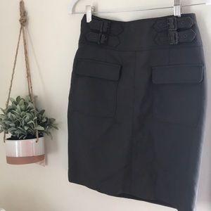 Unique pocket skirt